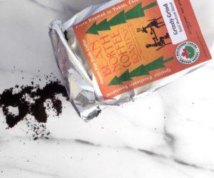 bean north coffee - coffee scrub