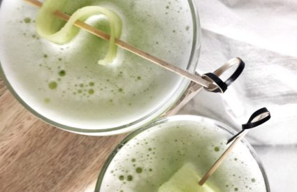 The Perfect Drink for A Summer Day: Cucumber Sour