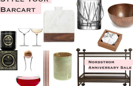 Style Your Bar Cart – Nordstrom Sale Must Haves