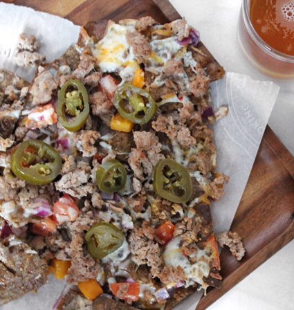 Time to Indulge! Spicy Chipotle Turkey Nachos