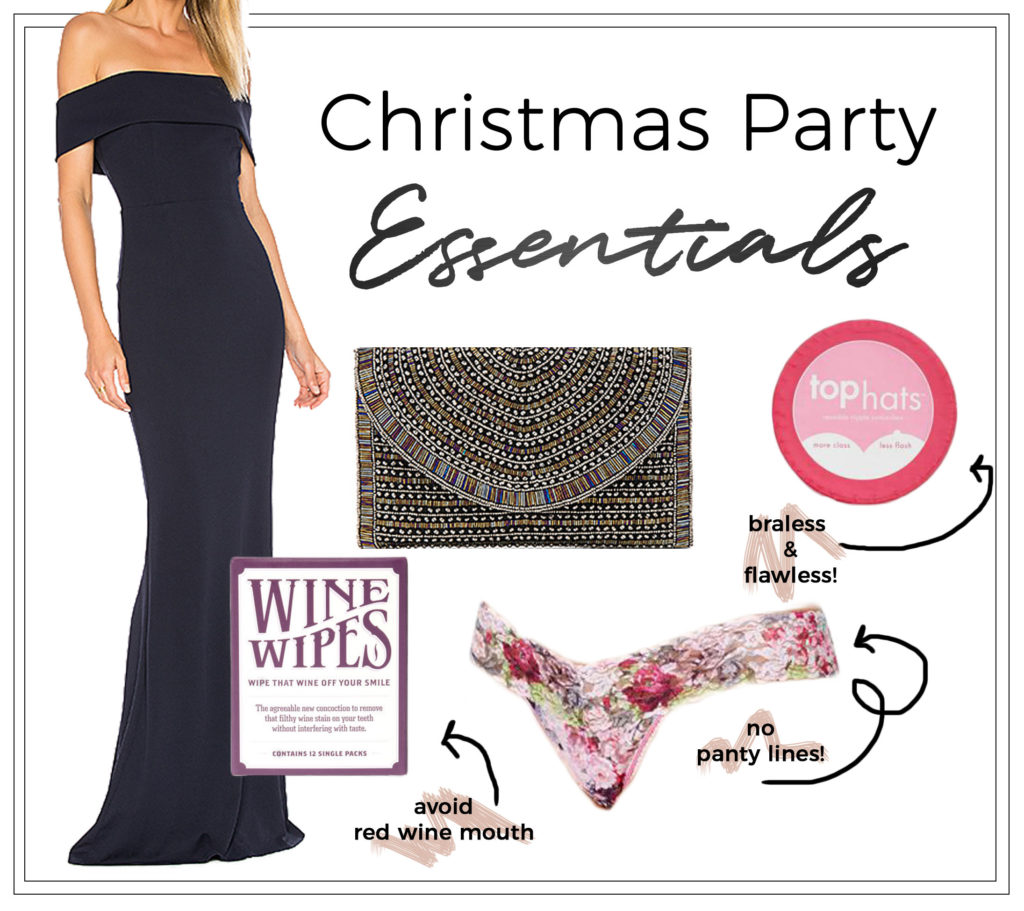 Christmas Party Beauty Essentials