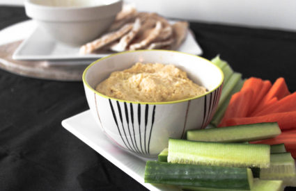Meal prep your snacks too! – Super Simple Hummus