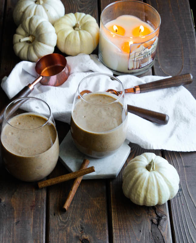 Trade in that PSL for a Pumpkin Spice Smoothie